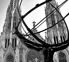 St. Patrick's and Atlas by JessicaHaley