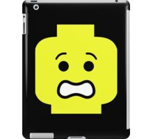 Scared Minifig Face  iPad Case/Skin