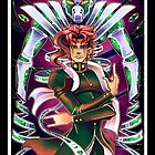JJBA Tarot - The Hierophant by Lintufriikki