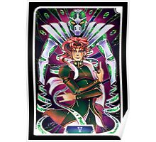 JJBA Tarot - The Hierophant Poster