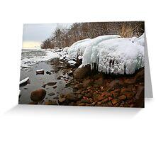 Ontario winter 4 Greeting Card