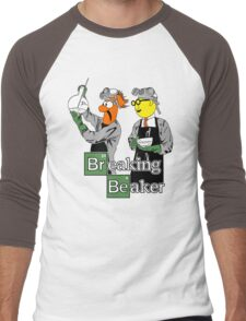 Breaking Beaker Men's Baseball ¾ T-Shirt