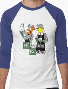 Breaking Beaker Men's Baseball ¾ T-Shirt