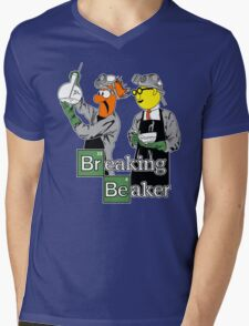 Breaking Beaker Mens V-Neck T-Shirt