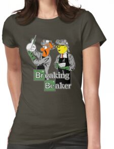 Breaking Beaker Womens Fitted T-Shirt