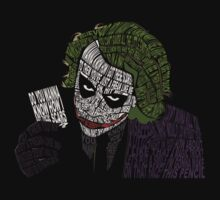 Why So Serious? - The Joker in Quotes T-Shirt