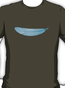 blue feather T-Shirt