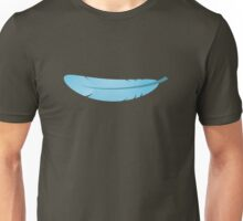 blue feather Unisex T-Shirt