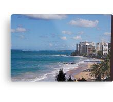 Puerto Rico beach Metal Print