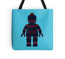 Minifig with Curved Stripes Tote Bag