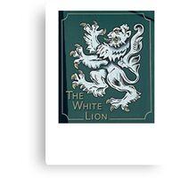 gothic lion Canvas Print