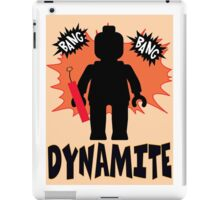 Dynamite Minifigure iPad Case/Skin