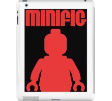 Retro Large Black Minifig, Customize My Minifig iPad Case/Skin
