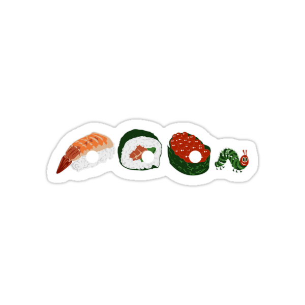 Very Hungry Sushi by zomboy