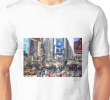 Times Square In Minature Unisex T-Shirt