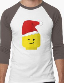 Santa Minifig by Customize My Minifig Men's Baseball ¾ T-Shirt