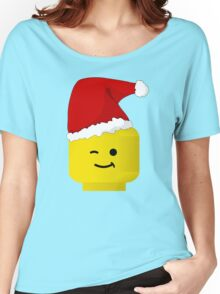 Santa Minifig by Customize My Minifig Women's Relaxed Fit T-Shirt