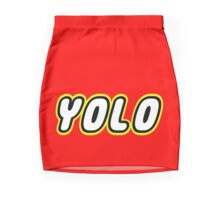 YOLO by Customize My Minifig Pencil Skirt