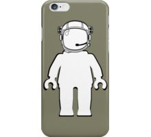 Banksy Style Astronaut Minifigure by Customize My Minifig iPhone Case/Skin