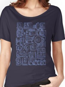 Paparazzi Blue Women's Relaxed Fit T-Shirt