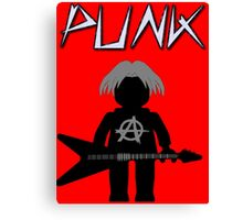 Punk Guitarist Minifig by Customize My Minifig Canvas Print