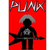 Punk Guitarist Minifig by Customize My Minifig Photographic Print