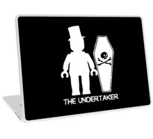 """THE UNDERTAKER""  Laptop Skin"