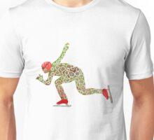 Speed skating Unisex T-Shirt