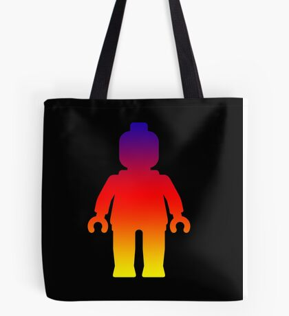 Minifig [Large Rainbow 2]  Tote Bag