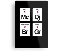The Four Elements of Hip Hop Metal Print