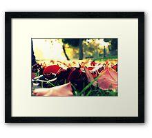 Hello Leaves Framed Print