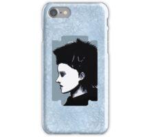 Lisbeth Salander Razor Blade iPhone Case/Skin