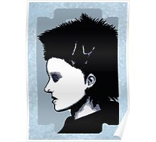 Lisbeth Salander Razor Blade Poster