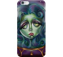 Woman in Crystal Ball  iPhone Case/Skin