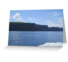 The Cliffs of Insanity :: Harry Potter :: Cliffs of Moher, Ireland Greeting Card