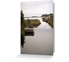Serene Reflections of Strahan Greeting Card