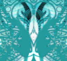 Butterfly blue'... Sticker