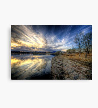 Shoreline to Sunset Canvas Print