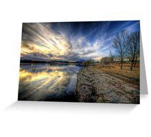 Shoreline to Sunset Greeting Card