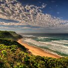 Warmth - South of Apollo Bay - Great Ocean Road - The HDR Experience by Philip Johnson