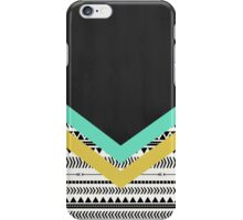 Black and white aztec iPhone Case/Skin