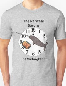 The Narwhal Bacons at Midnight  Unisex T-Shirt