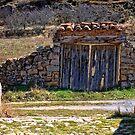 Arched gateway, Miravete, Maestrazgo, Aragon, Spain by Andrew Jones