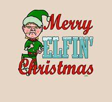 Funny Merry Elfin Christmas Bah Humbug Unisex T-Shirt