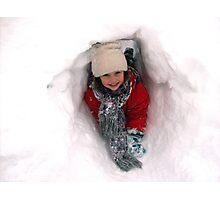 Snow fun Photographic Print