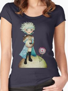 Wintry Little Prince T-shirt Women's Fitted Scoop T-Shirt