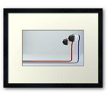 Headphone Framed Print