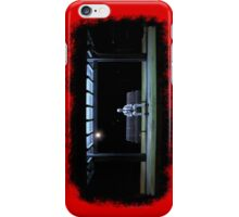 Sitting on the railway station  iPhone Case/Skin