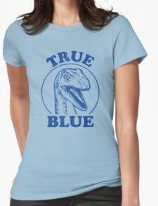 True Blue Raptor Womens Fitted T-Shirt