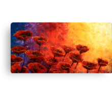 Heavenly Poppies Canvas Print
